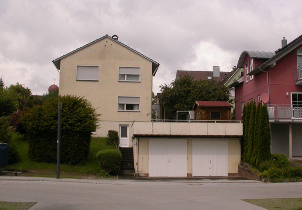 01 Dachaufstockung Bestand, Kressbronn 2015
