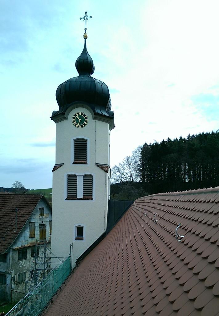 Kath. Kirche Krumbach Außensanierung 09